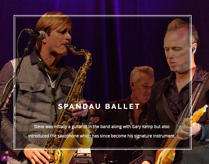 Steve on Spandau Ballet