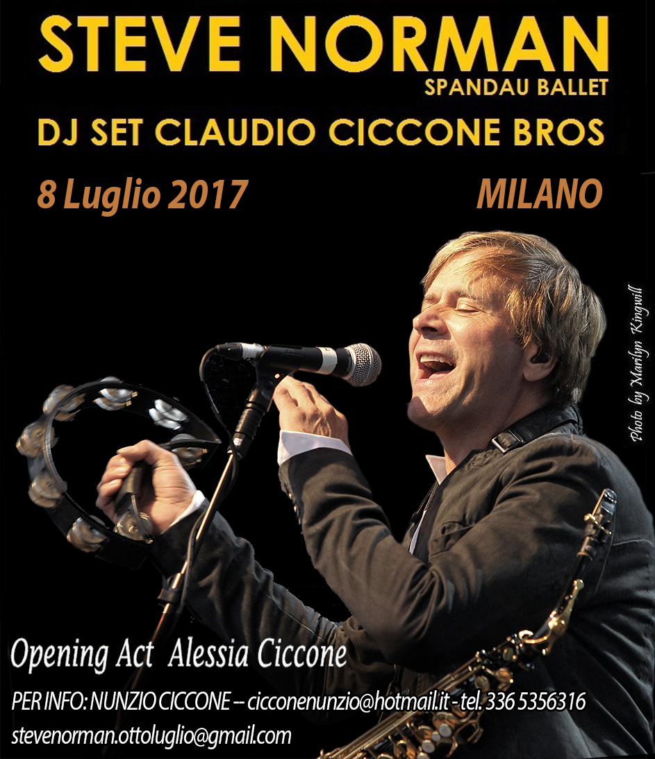 MILAN GIG ANNOUNCEMENT
