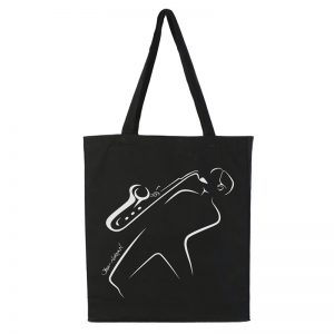 Black Totebag Steve Norman