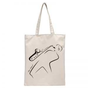White Totebag Steve Norman