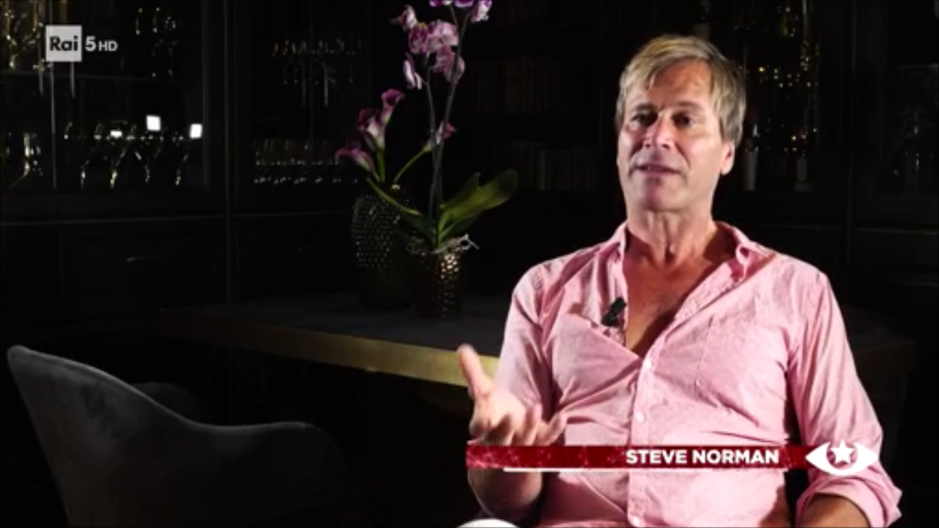 BOWIENEXT DOCUMENTARY – INTERVIEW WITH STEVE ON RAI5